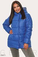 Утепленная стеганая куртка Большие размеры Разные цвета