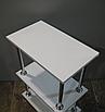 Тележка для маникюра (маникюрный передвижной столик) №1 Уна - 3 (+две ручки), фото 2