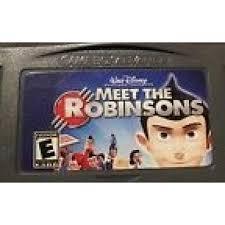 Картридж GBA MEET THE ROBINSONS