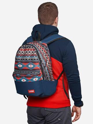 Рюкзак, Native Red, сумка-рюкзак, рюкзак с рисунком, фото 2