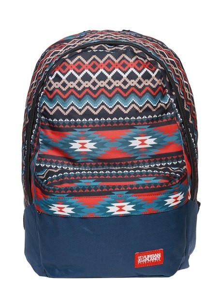 Рюкзак, Native Red, сумка-рюкзак, рюкзак с рисунком