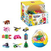 Конструктор Qman «Обучающий детский набор» Build and Learn Ball 721 деталей 2902 3+