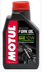 Вилочное масло Motul FORK OIL EXPERT MEDIUM SAE 10W (1L)