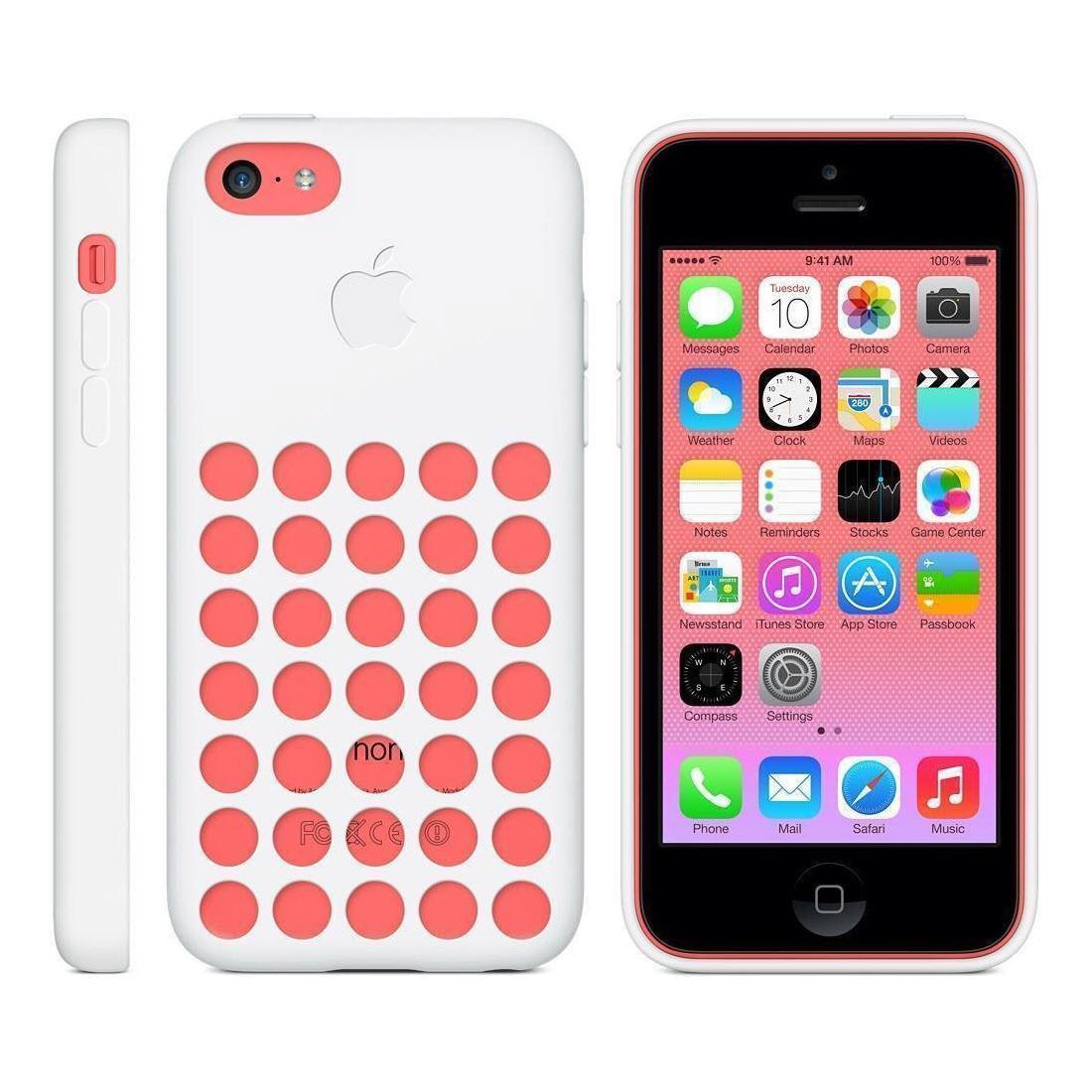 Чехол Apple для iPhone 5С MF039ZM/A White (Белый)