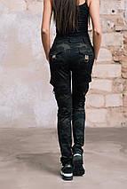 """Спортивные женские брюки """"Алекс"""" с накладными карманами, фото 3"""