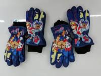Болоневые перчатки для мальчиков оптом, Disney, 3-8 лет,  № 800-607