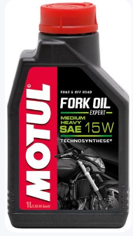 Вилочное масло Motul FORK OIL EXPERT MEDIUM/HEAVY SAE 15W (1L)