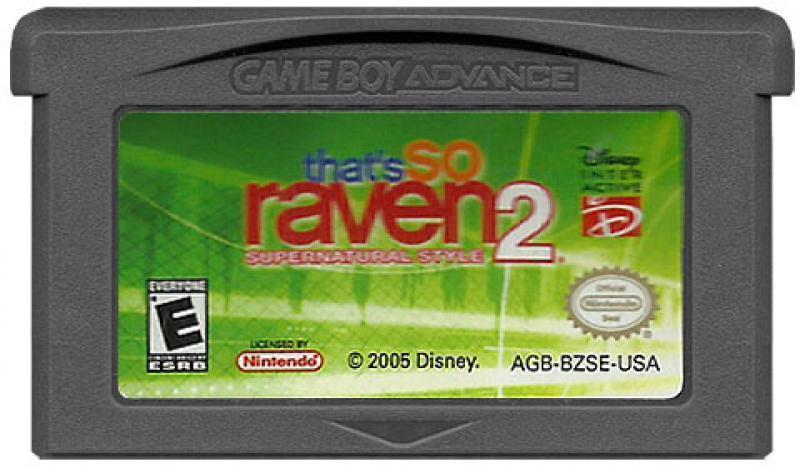 Картридж для Game Boy Advance: that's So Raven 2 Supernatural style