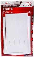 Дверной звонок Zamel Gong Forte GNS-223 белый