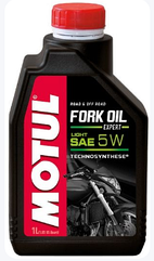 Вилочное масло Motul FORK OIL EXPERT LIGHT SAE 5W (1L)