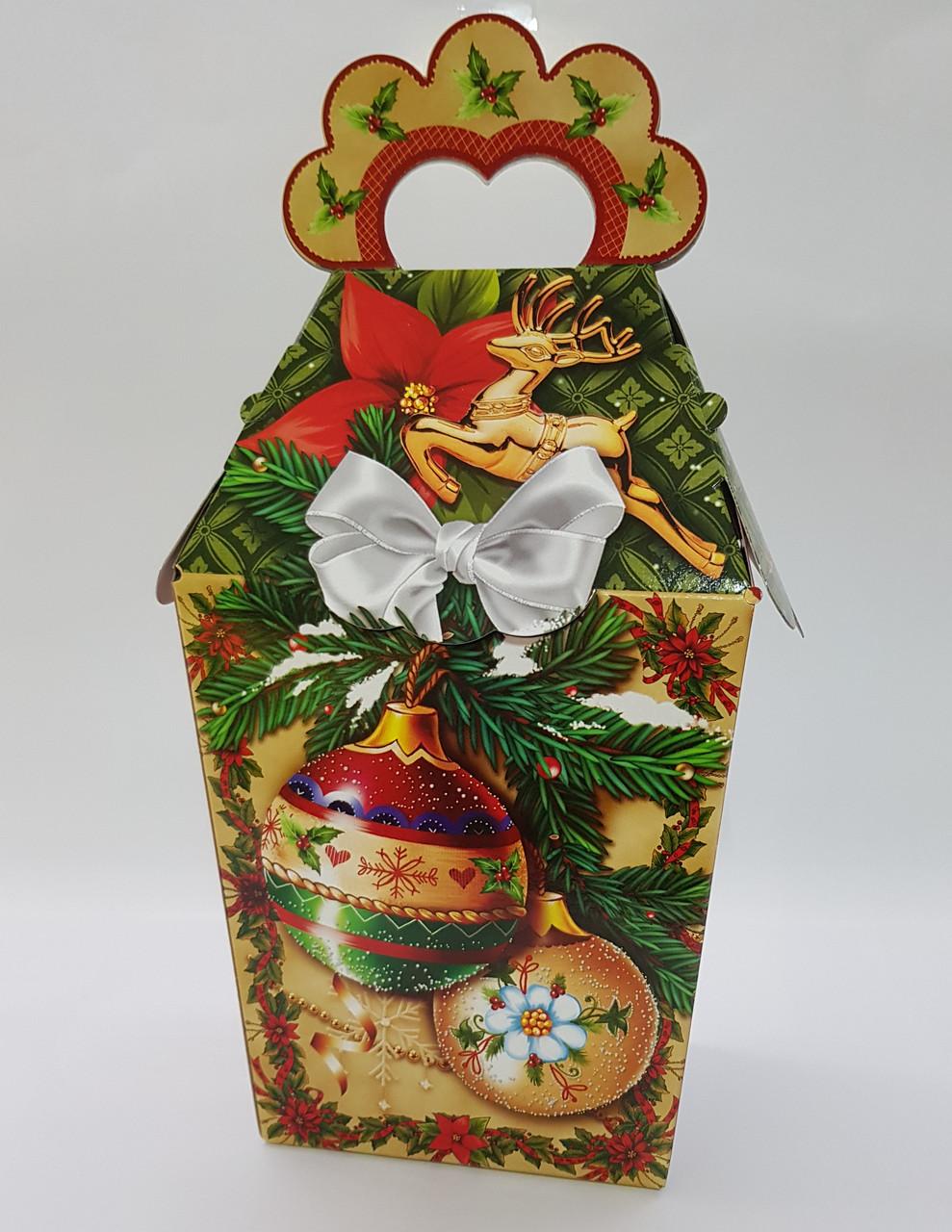 """Упаковка Новый год """"Новогодние шары"""" на 700 гр."""