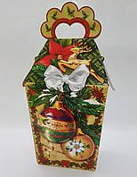 """Упаковка Новый год """"Новогодние шары"""" на 700 гр., фото 1"""