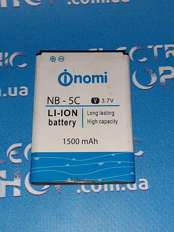 Аккумулятор Nomi nb-5c оригинал б.у, фото 2