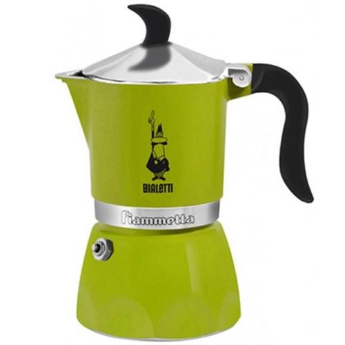 Гейзерная кофеварка Bialetti Fiammetta Green 3 порции