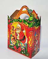 Упаковка Новый год Коробка Балу Санта на 600 гр.