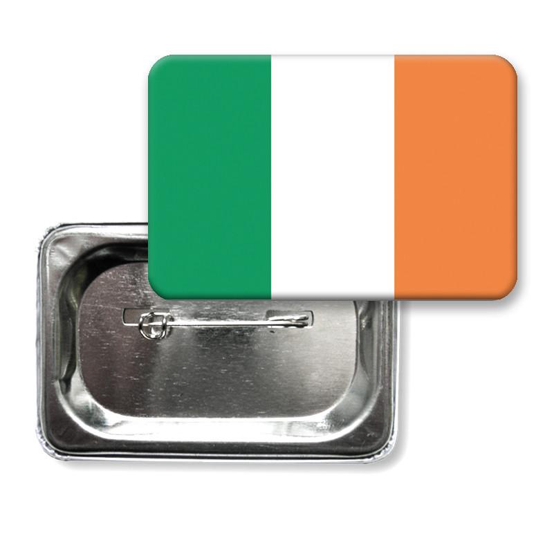 "Закатной значок ""Флаг Ирландии"""