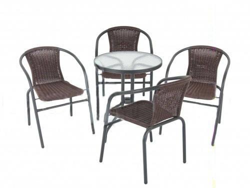 Cадовая мебель Bistro Wenge, комплект, фото 2