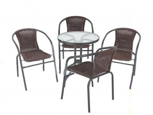 Cадовая мебель Bistro Wenge, комплект
