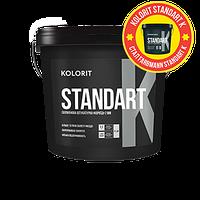 Standart K силиконовая структурная штукатурка короед для наружных работ 25кг