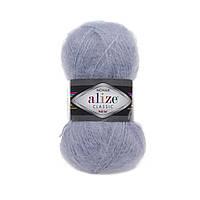 Пряжа Alize Mohair Classic New 51 светло-голубой (мохеровая пряжа Ализе Мохер Классик, Алізе Мохер класік)