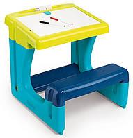Детская парта с двухсторонней доской для рисования Smoby 420101, фото 1