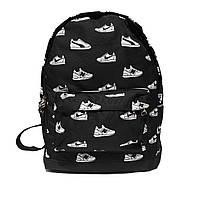 Рюкзак городской спортивный в стилеNike принт черный, фото 1