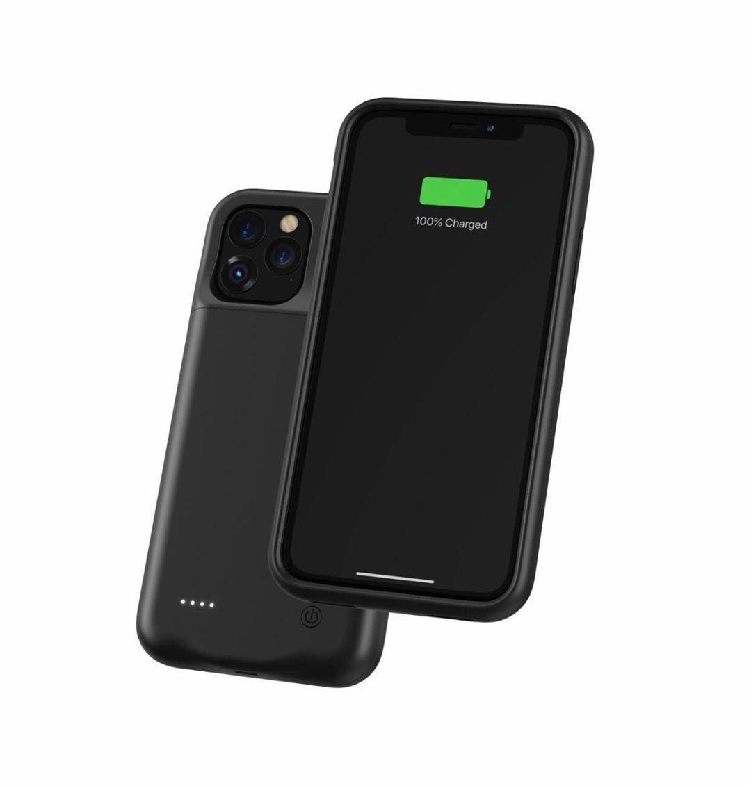 Чехол аккумулятор AmaCase для iPhone 11 Черный (4500 мАч)
