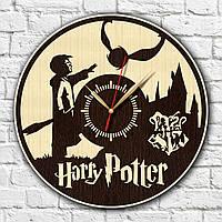 Гарри Поттер часы Экологические настенные часы Декорация стены Часы для подростка Harry Potter часы 30 см