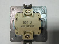 Выключатель одноклавишный Jung 501U механизм