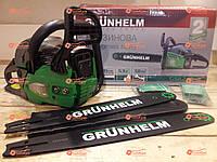 Бензопила цепная Grunhelm GS62-18/2 Professional