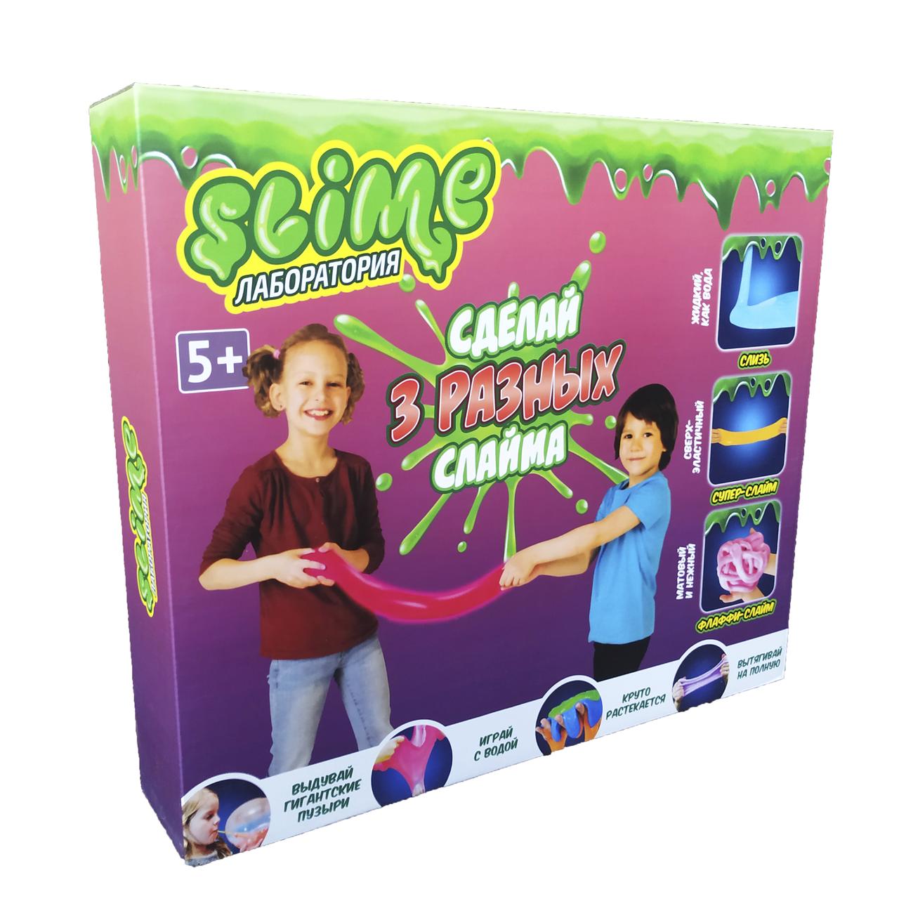 Набор для создания слаймов Slime Лаборатория №1 scs scs