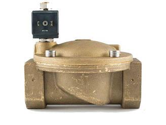 """Клапан 1-1/2"""", нормально-відкритий, 8718 NBR 230V 50 Hz, соленоїдний електромагнітний, CEME, Італія"""