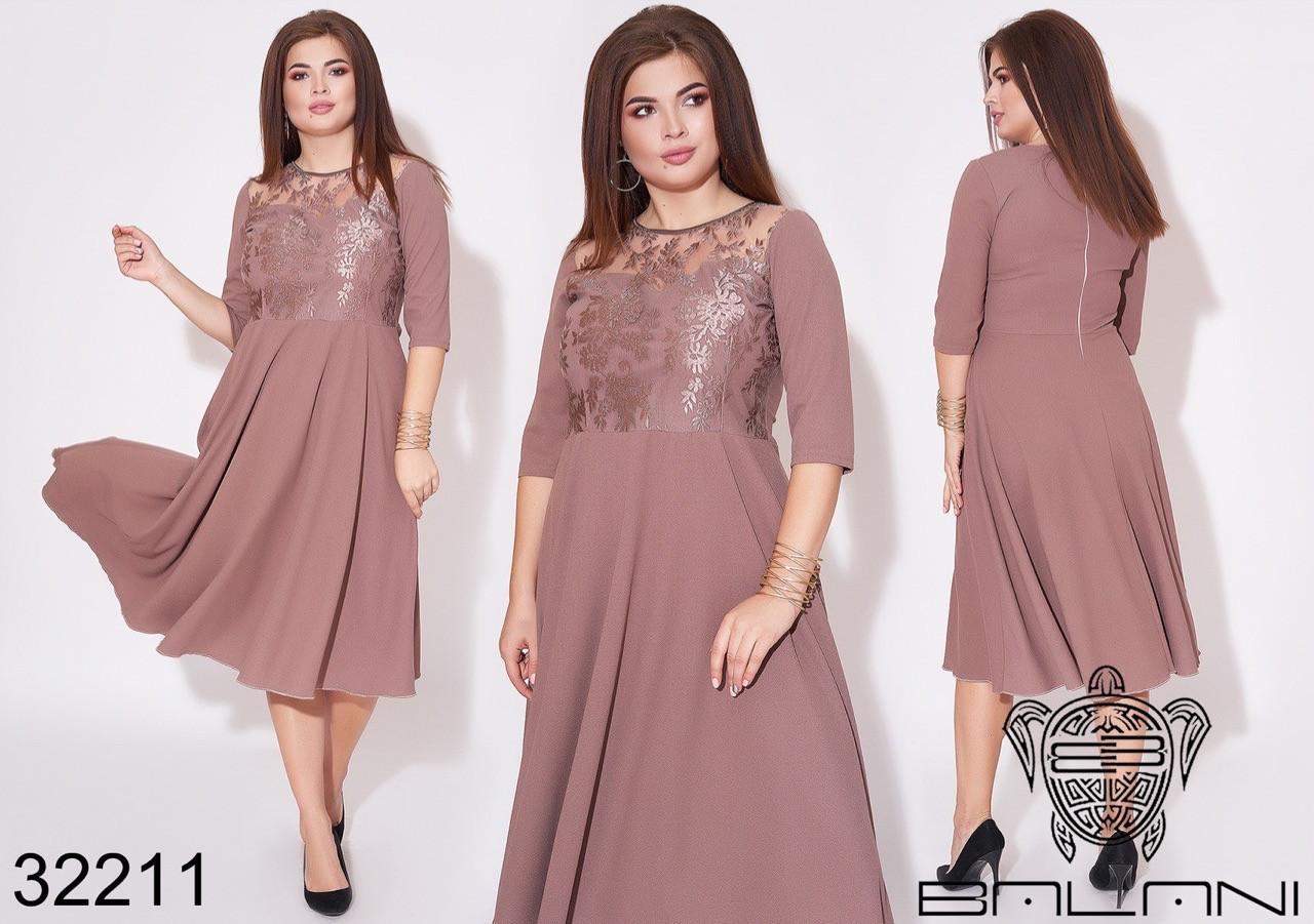 Сукня жіноча 357ои батал