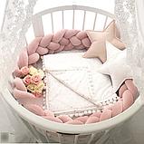 СУПЕР ЗНИЖКА! - 1600 грн Набір для новонародженого Коляска Tako \ Junama + Овальна \ кругла ліжко, фото 3