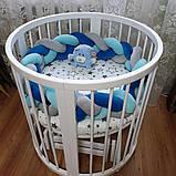 СУПЕР ЗНИЖКА! - 1600 грн Набір для новонародженого Коляска Tako \ Junama + Овальна \ кругла ліжко, фото 4