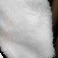 Искусственный мех отделенный мех для пошива верхней одежды белый сублимация мех-белоснежный, фото 1
