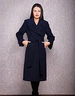 Пальто из кашемира Д38 ЛЮКС евро, разные цвета (р 44-62)