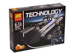 """Конструктор Lele 38023 """"Компактный гусеничный погрузчик"""" (реплика Lego Technik 42032), 252 дет"""