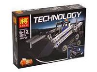 """Конструктор Lele 38023 """"Компактный гусеничный погрузчик"""" (реплика Lego Technik 42032), 252 дет, фото 1"""