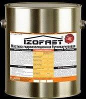 Мастика битумно-каучуковая, бутилкаучуковая IZOFAST