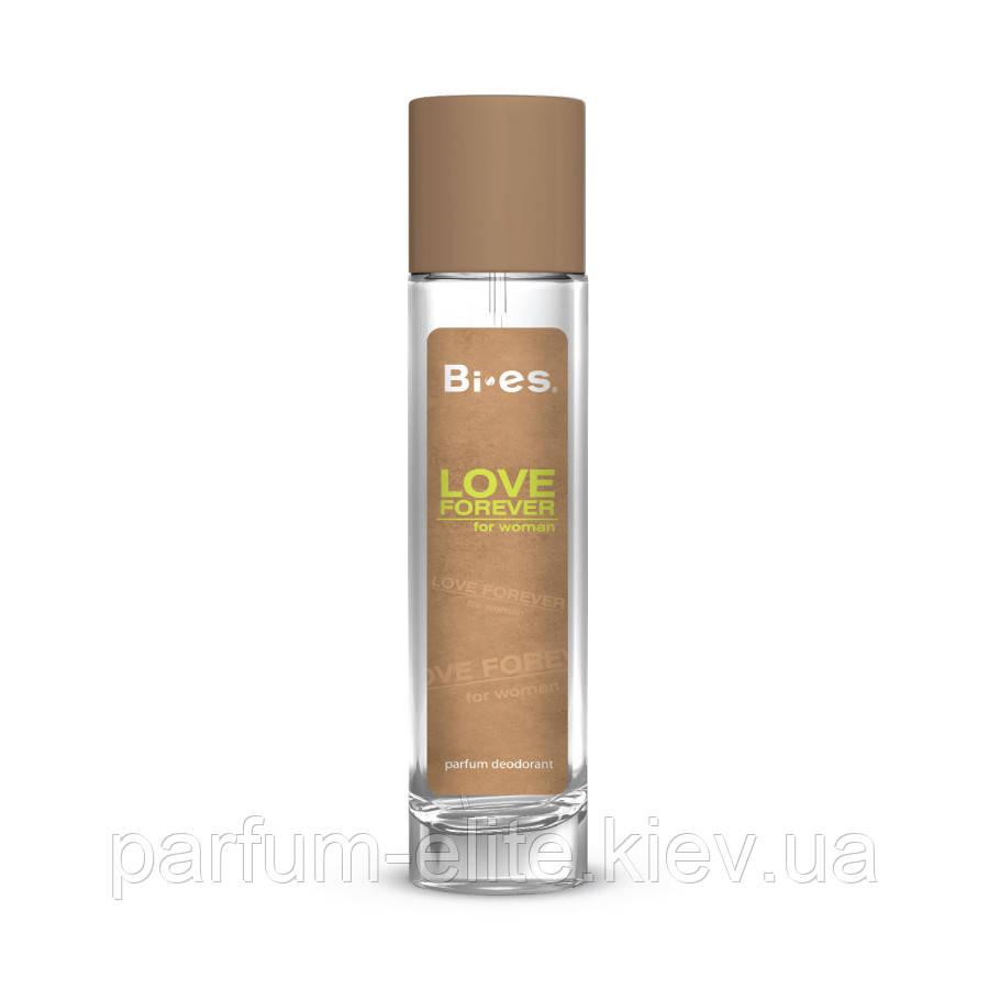 Женский парфюмированный дезодорант в стекле Love Forever green 75ml