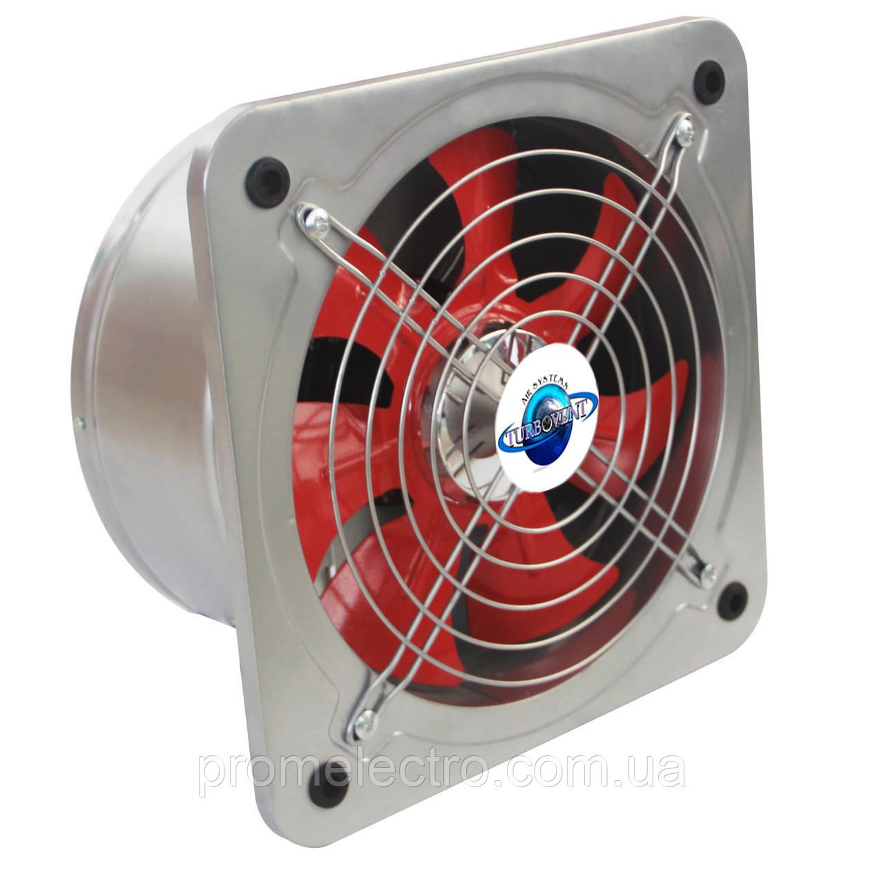 Настенные вентиляторы с обратным клапаном Турбовент НОК 180
