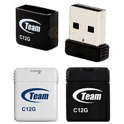 Флешка USB 16Gb Team C12G, Black (TC12G16GB01) Shorty series