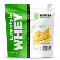 Протеин Swedish Lifestyle Whey (1.0 кг) Ванильный ананас, фото 1