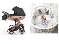 СУПЕР СКИДКА - 1940 грн!  Набор для новорожденного  Коляска Tako \ Junama +  Овальная \ круглая кроватка