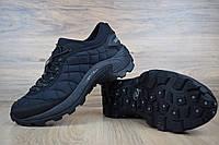 Полуботинки зимние Merrell ICEBERG MOC мужские, черные, в стиле Меррелл Айсберг, плотный нейлон, код OD-3417