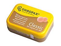 Восковые беруши Ohropax 6 пар SNR 27 дБ