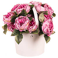 "Подарочные коробка для цветов ""Ведерко"" 19х20х14 см"
