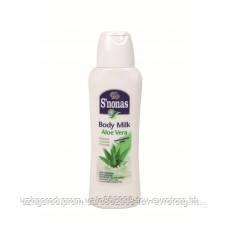 (Распродажа)Молочко для тела S'nonas aloe vera 400 мл.