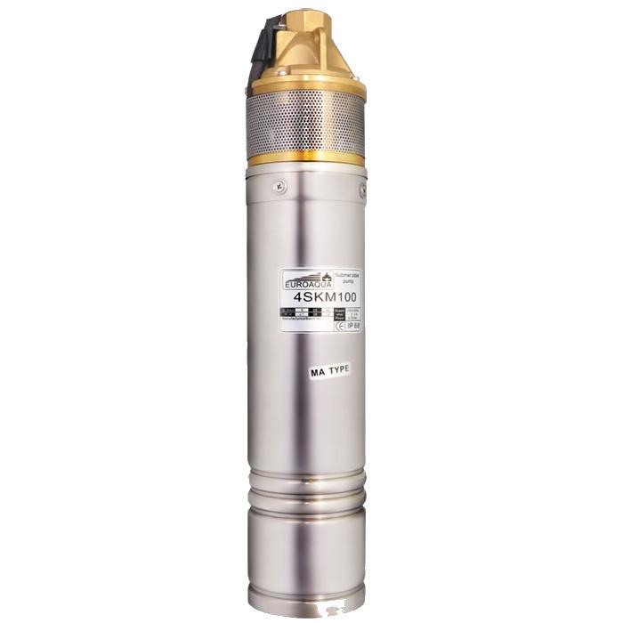 Насос для скважин Euroaqua 4SKm 150 + контрольбокс